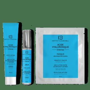 Darilni komplet – maska, gel in serum s hialuronom