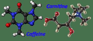 Karnitin in kofein učinkovini v losjonu za lepo kožo na rokah Belle.si