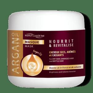 Maska Argan za svilnate lase – lepi in zdravi lasje