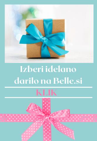 darilni paketi kozmetika belle
