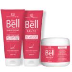 Komplet za hitrejšo rast las Hair Bell šampon, balzam, maska