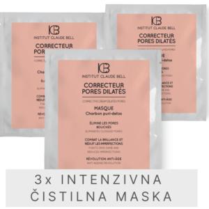 Darilni paket – 3x maske za čisto in sijočo kožo