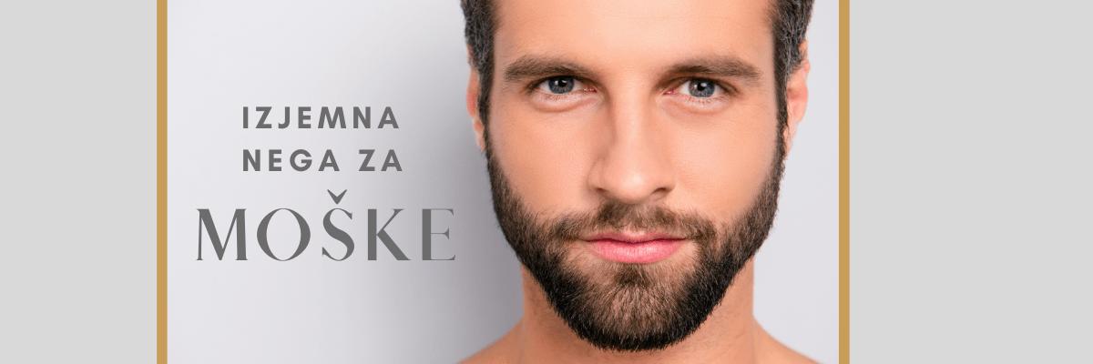 Moška kozmetika, PROTI GUBAM Z AMOŠKE